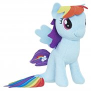 My Little Pony Movie - Pluszak Błyszczący Rainbow Dash 14 cm C2842