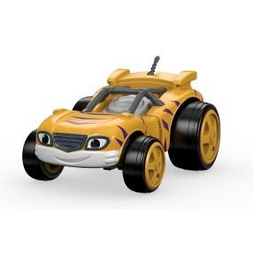 Fisher-Price Blaze - Metalowy samochodzik Race Car Stripes DTK22