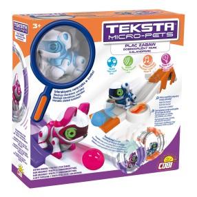 Teksta Micro-Pets - Plac zabaw i interaktywny Piesek 51476 A