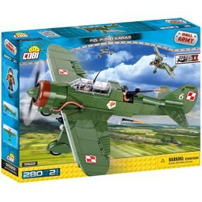 COBI Small Army - Samolot liniowy PZL P-23B Karaś 5522