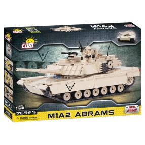 COBI Small Army - Amerykański czołg podstawowy M1A2 Abrams 2608