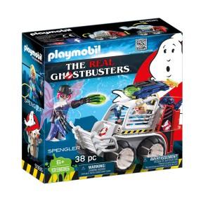 Playmobil - Spengler z pojazdem klatką 9386