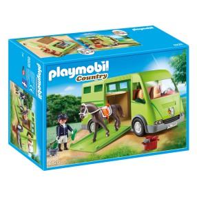Playmobil - Pojazd do przewozu koni 6928