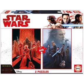 Educa - Puzzle Star Wars Epizod VIII Ostatni Jedi 2x500 el. 17464