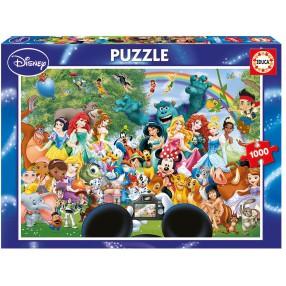Educa - Puzzle Świat Disneya 1000 el. 16297