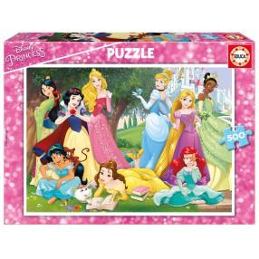 Educa - Puzzle Księżniczki Disney 500 el. 17723