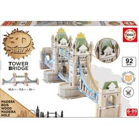 Educa - Puzzle 3D Monument Tower Brigde 16999