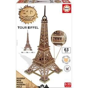 Educa - Puzzle 3D Monument Wieża Eiffla 16998