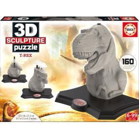 Educa - Puzzle 3D Rzeźba T-Rex 16967