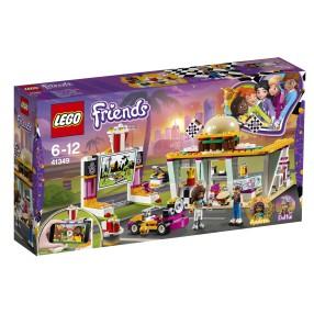 LEGO Friends - Wyścigowa restauracja 41349