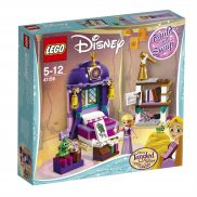 LEGO Disney Princess - Zamkowa sypialnia Roszpunki 41156