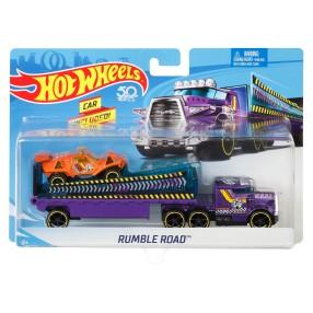 Hot Wheels - Ciężarówka + Samochód Rumble Road BDW53