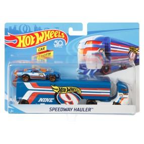 Hot Wheels - Ciężarówka + Samochód Speedway Hauler DKF85
