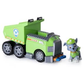 Psi Patrol - Pojazd z figurką Rocky i wywrotka do recyklingu 20087719
