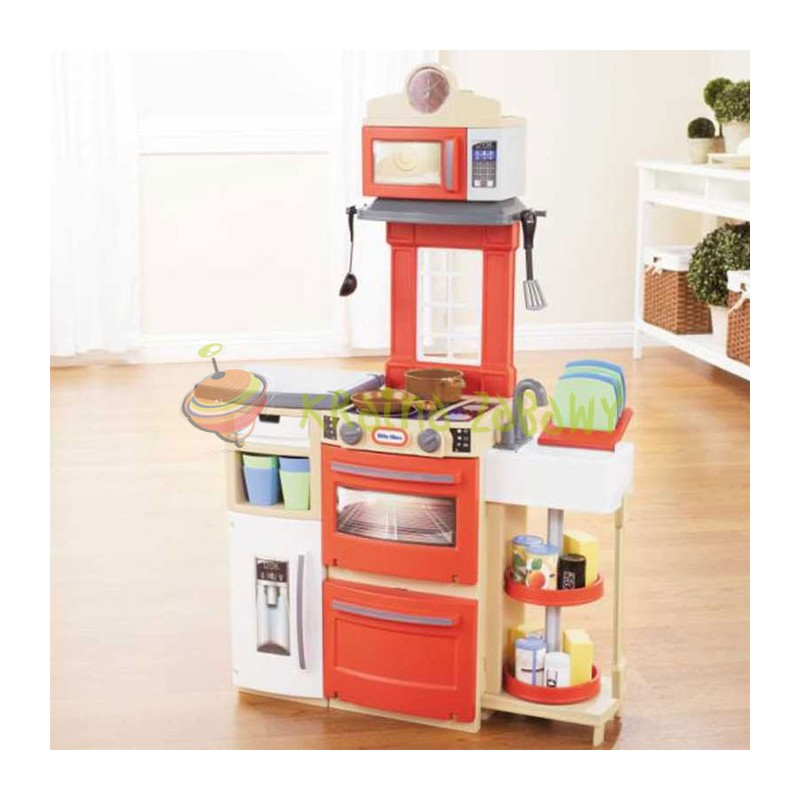 Little Tikes  Kuchnia kompaktowa Cook and Store 638701  Kraina Zabawy -> Kuchnia Dla Dzieci Little Tikes