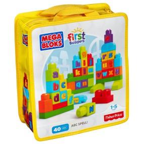 Mega Bloks First Builders - Klocki Ćwiczymy ABC DKX58