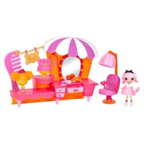 Lalaloopsy - Style 'N' Swap Zestaw Salon piękności i mini laleczka 541394