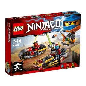 LEGO Ninjago - Pościg na motocyklu 70600