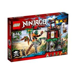 LEGO Ninjago - Wyspa Tygrysiej Wdowy 70604