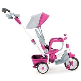 Little Tikes - Trójkołowy Rowerek Perfect Fit 4w1 Różowy 639654