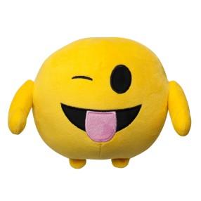 Imoji - Maskotka emotikon Buźka z wystawionym językiem 18 cm 46001 8