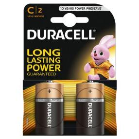Duracell - Baterie C/LR14 2szt.