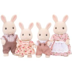 Sylvanian Families - Rodzina biszkoptowych królików 3144