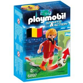 Playmobil - Piłkarz reprezentacji Belgii 6897