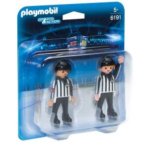 Playmobil - Sędzia hokejowy 2 figurki 6191