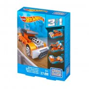 Mega Bloks Hot Wheels - Samochód Wielki Niszczyciel 3w1 CNH41