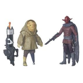 Hasbro Star Wars E7 - Figurki 10 cm 2-pak Sidon Ithano i First Mate Quiggold B5896