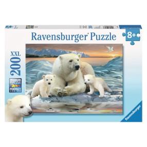 Ravensburger - Misie polarne Puzzle XXL 200 elem. 126477