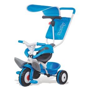 Smoby - Rowerek Baby Balade 3w1 niebieski 444208