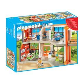 Playmobil - Szpital dziecięcy z wyposażeniem 6657