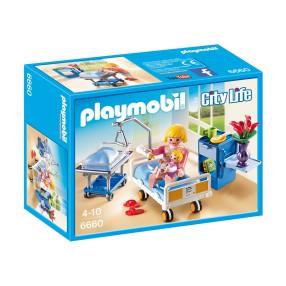 Playmobil - Sala chorych z łóżkiem dla niemowlaka 6660