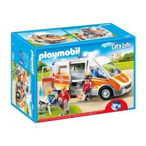 Playmobil - Karetka ze światłem i dźwiękiem 6685