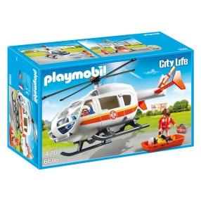 Playmobil - Śmigłowiec ratunkowy 6686