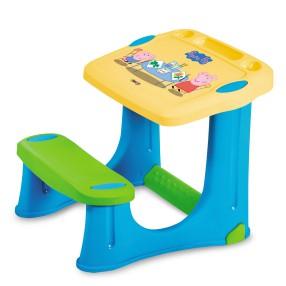 Smoby - Stolik z ławeczką świnka Peppa 420203