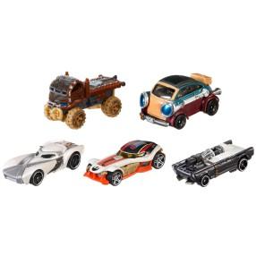 Hot Wheels - Star Wars E7 Samochodziki 5-pak Bohaterowie ruchu oporu DJP17
