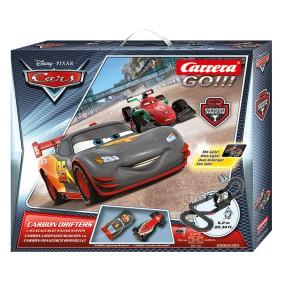 Carrera GO!!! - Disney Auta CARS Carbon Drifters 62385