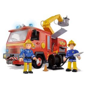 Simba - Strażak Sam Wóz strażacki Jupiter Światło Dźwięk + 2 figurki 9257661