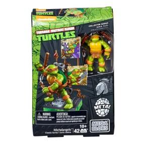 Mega Bloks Żółwie Ninja - Figurka klasyczna Michelangelo DMW24