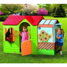 Little Tikes - Letni domek do zabaw jasno-zielony 490A