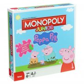 Hasbro - Monopoly Junior Świnka Peppa B9350 Polska Wersja