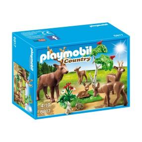 Playmobil - Rodzina jeleni 6817