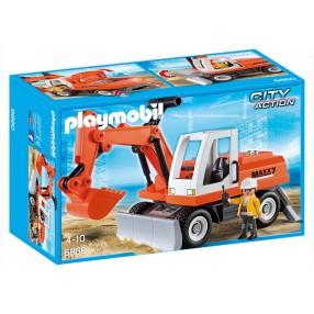 Playmobil - Koparka kołowa 6860