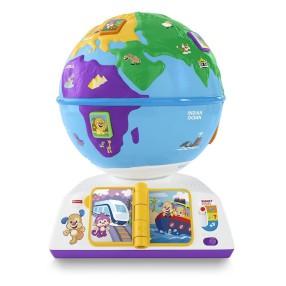 Fisher-Price Ucz się i Śmiej - Edukacyjny Globus odkrywcy DRJ85