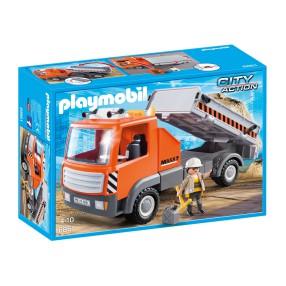 Playmobil - Ciężarówka budowlana Wywrotka 6861