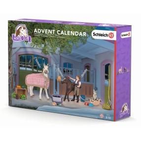 Schleich - Kalendarz adwentowy Stajnia z końmi 97151