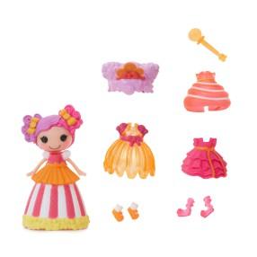 Lalaloopsy - Style 'N' Swap Mini Lalka Księżniczka Peanut 543855